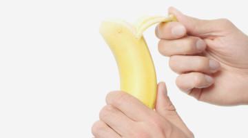 sbucciare-banana