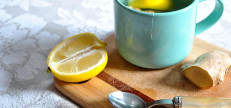 tisana zenzero limone