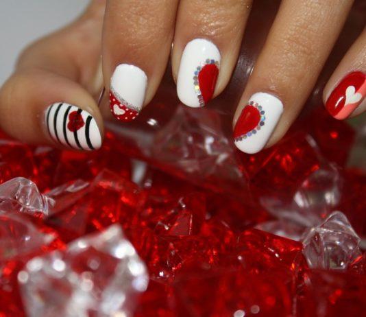 unghie san valentino
