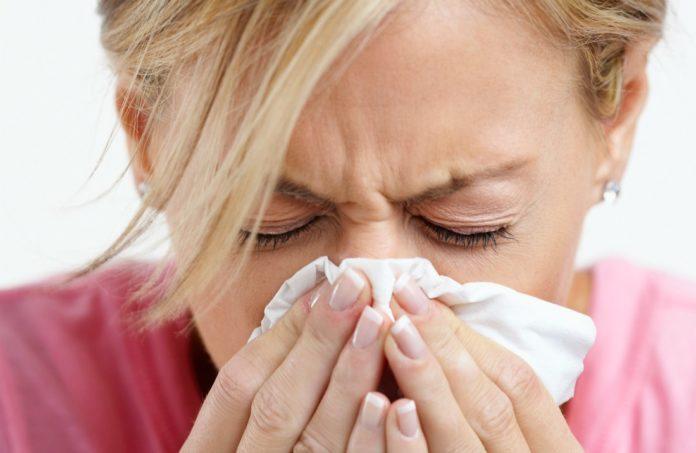 raffreddore naso rosso