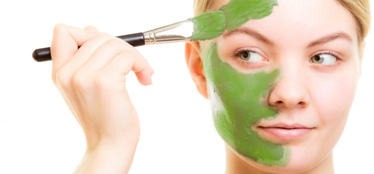 maschera pelle secca
