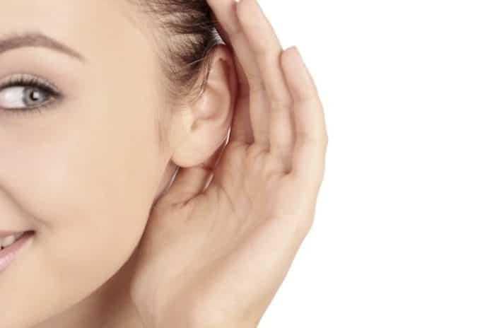 orecchio tappato