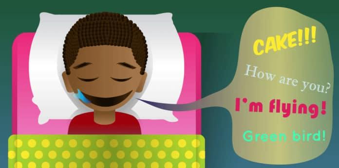 parlare nel sonno