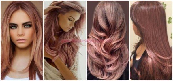 rosa colore capelli