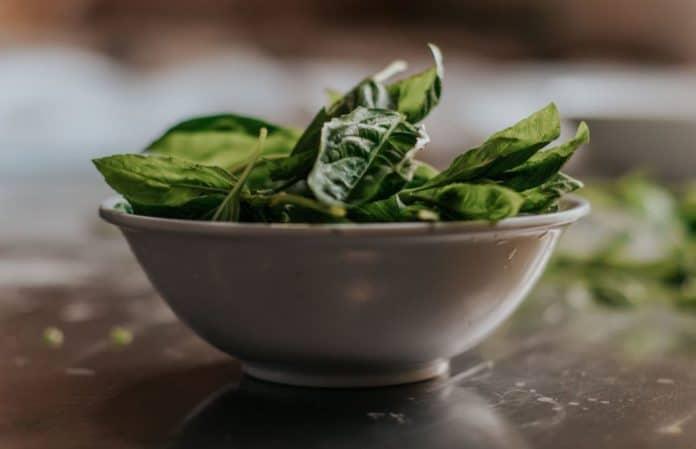 spinaci ferro