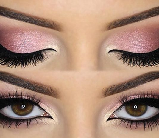 trucco make up rosa
