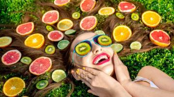 maschere capelli frutta