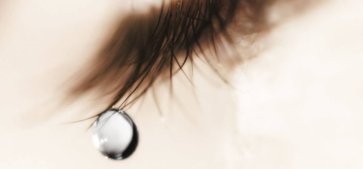 lacrime occhio