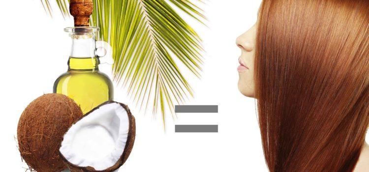 olio di cocco per capelli