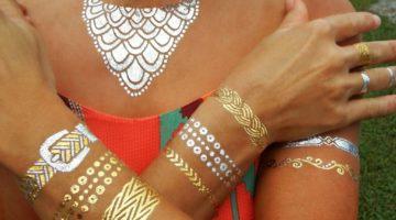 tatuaggio gioiello estate