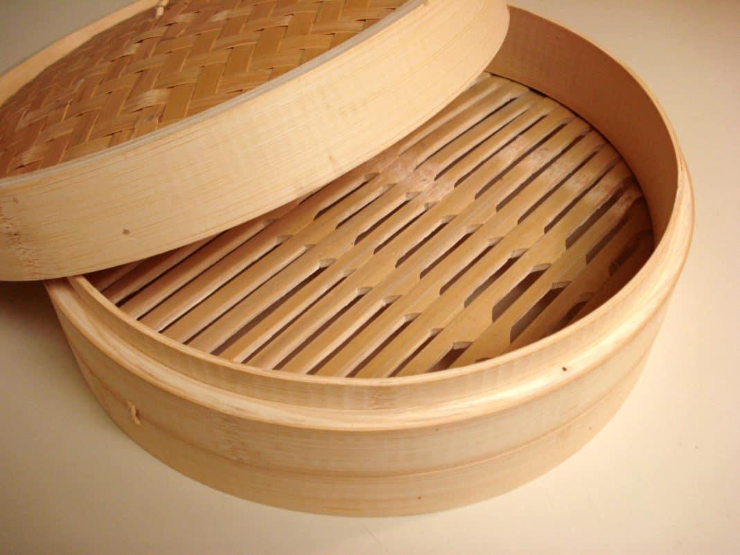 vaporiera cinese bamboo