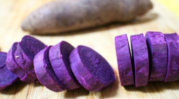 ube patata viola