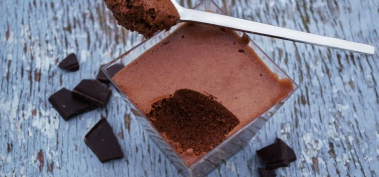 mousse cioccolato vegan