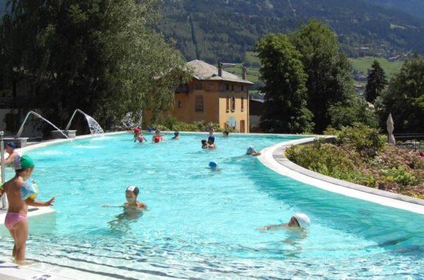 terme di bormio piscina scoperta