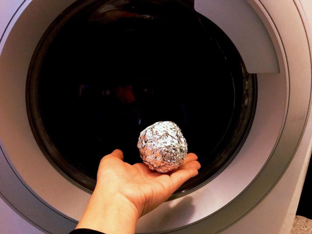 pallina alluminio lavatrice
