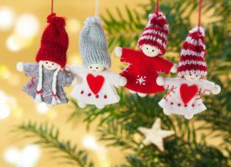 addobbi natalizi lana