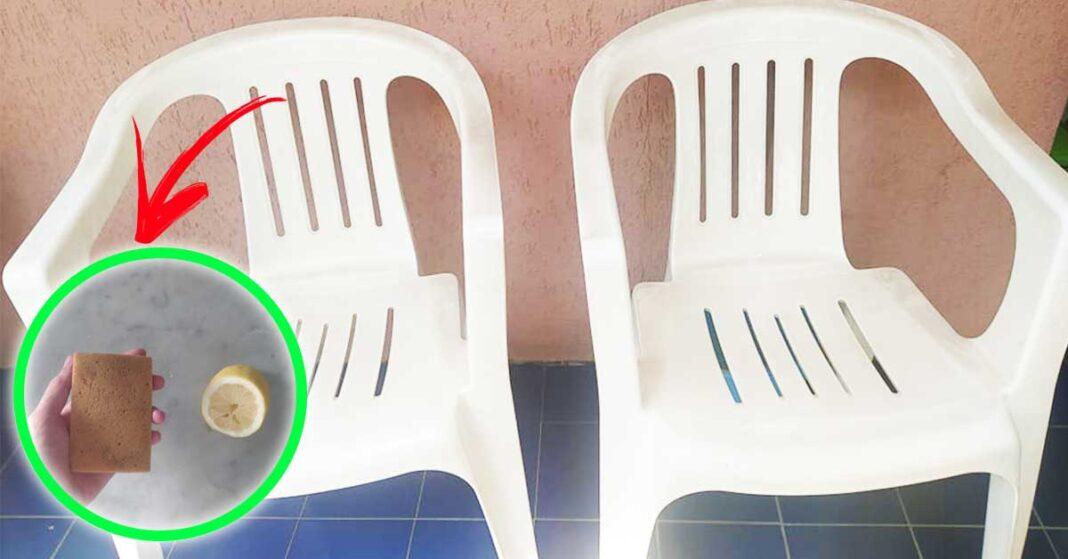 come-pulire-sedie-da-giardino