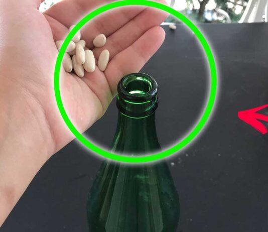 come-pulire-bottiglie-vetro