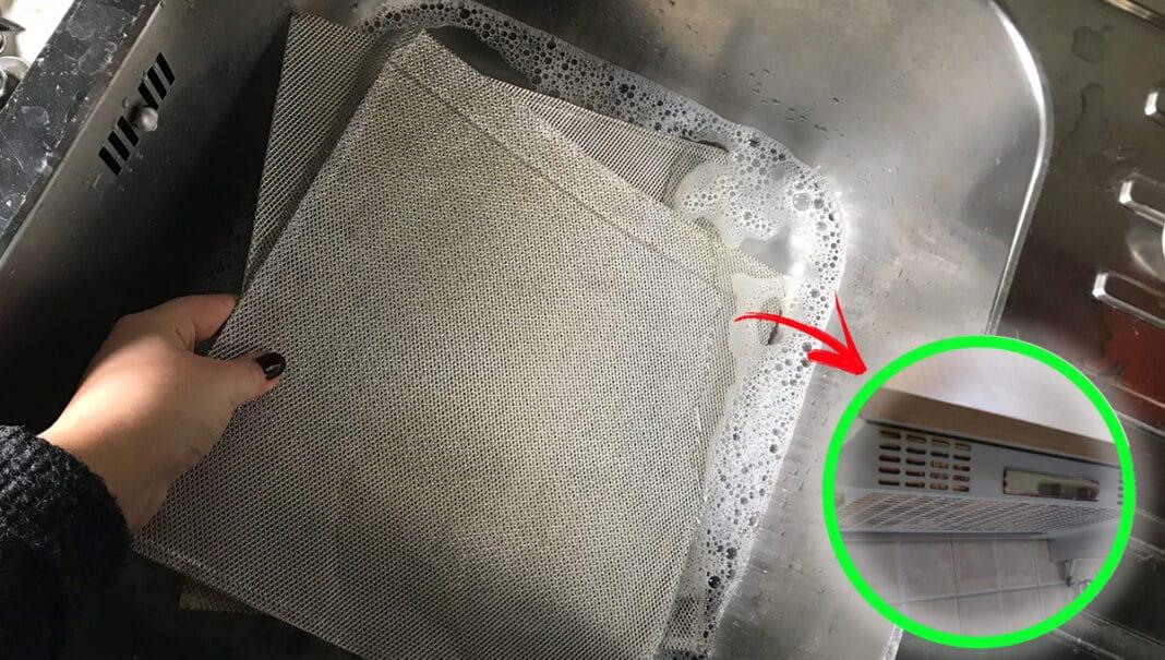 pulire-filtro-cappa