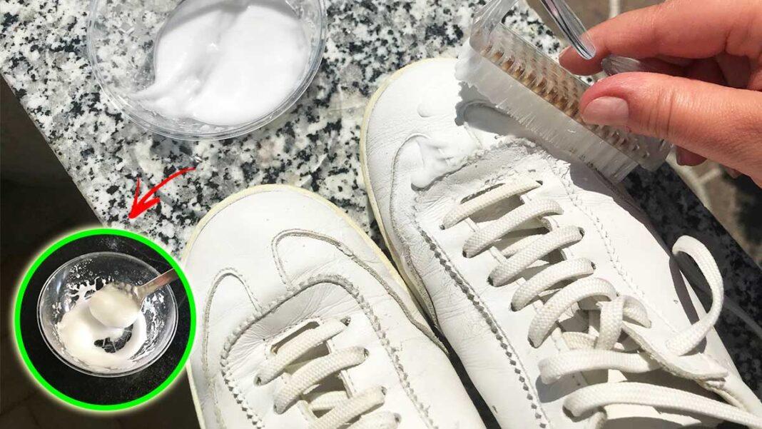 come-pulire-scarpe-bianche