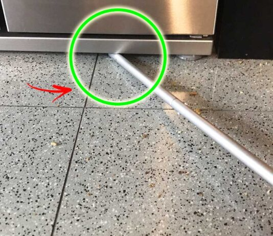 pulire-sotto-frigorifero