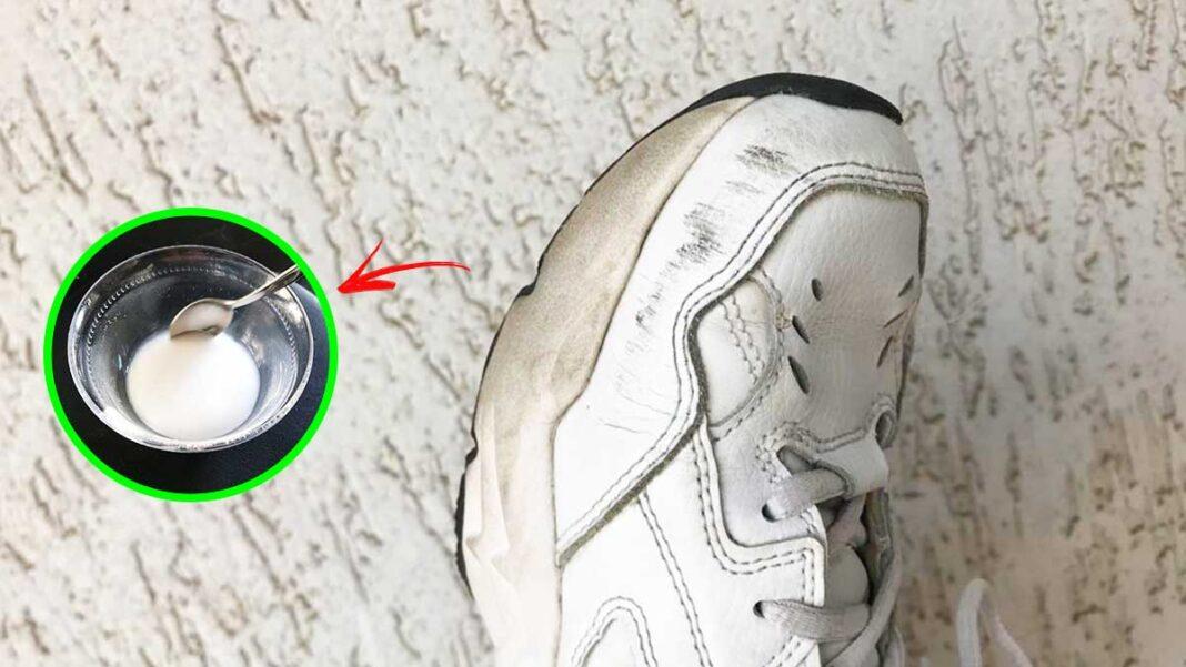 pulire-scarpe-bianche-senza-lavatrice