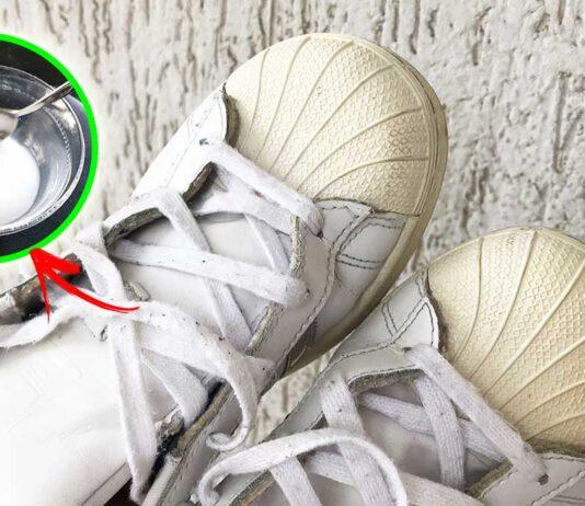 sbiancare-scarpe-ginnastica