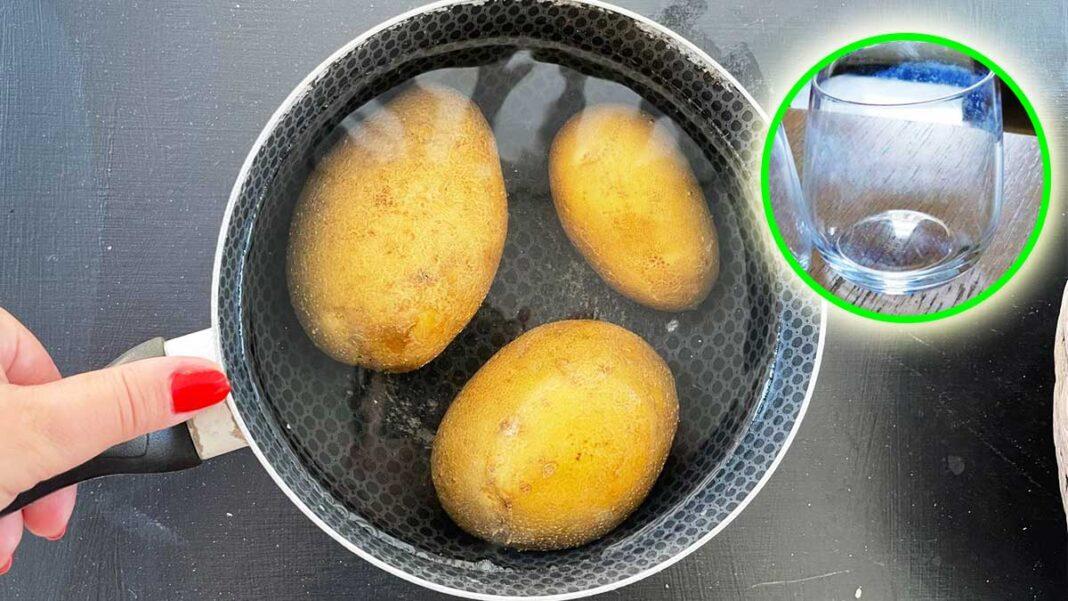 acqua-patate-pulizie