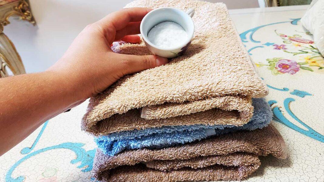 come-ammorbidire-asciugamani