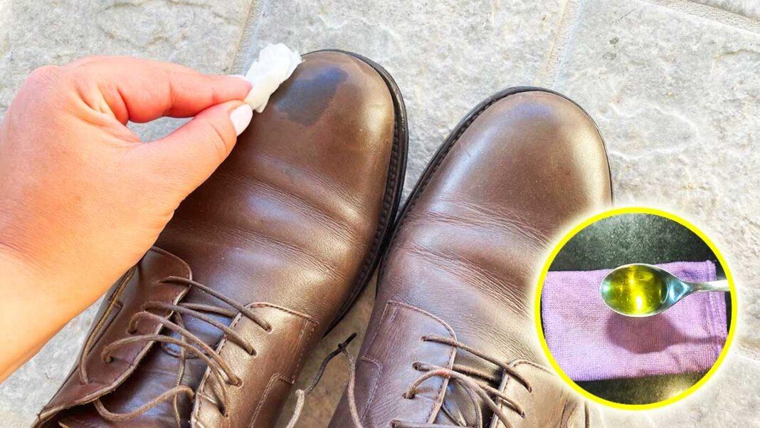 lucidare-scarpe-pelle